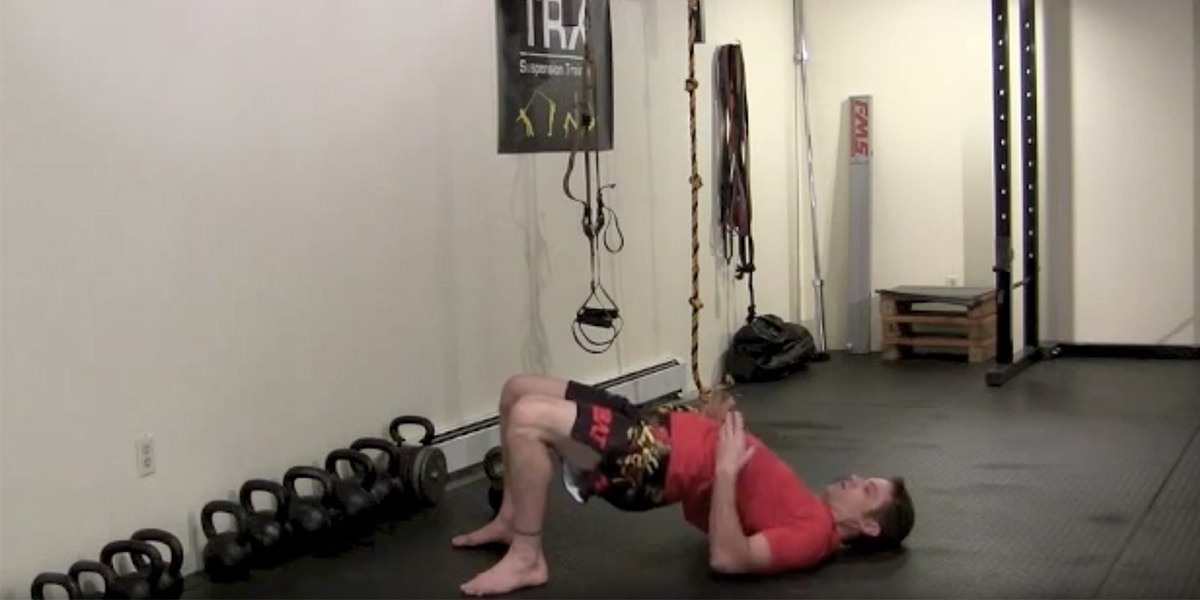 Improve Your Bridging and Shrimping with the Bulgarian Goat Bag Swing