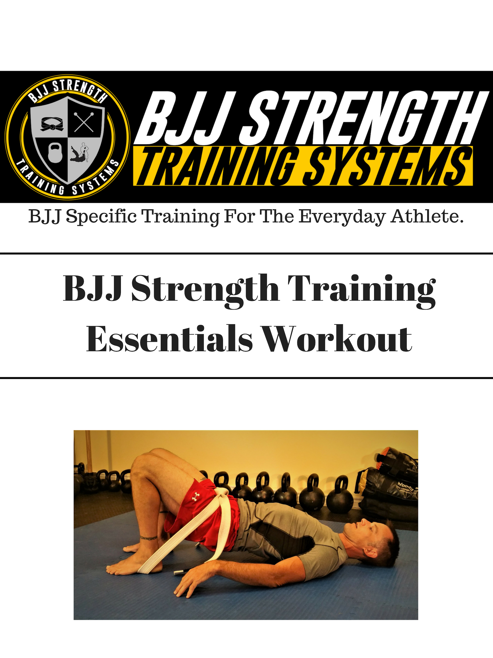 30-Day BJJ Bodyweight Workout Program
