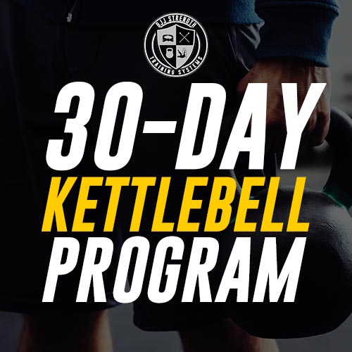FREE 30-Day BJJ Kettlebell Workout eBook