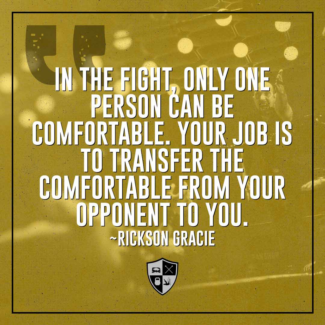 BJJ Motivation: Your Opponent to You