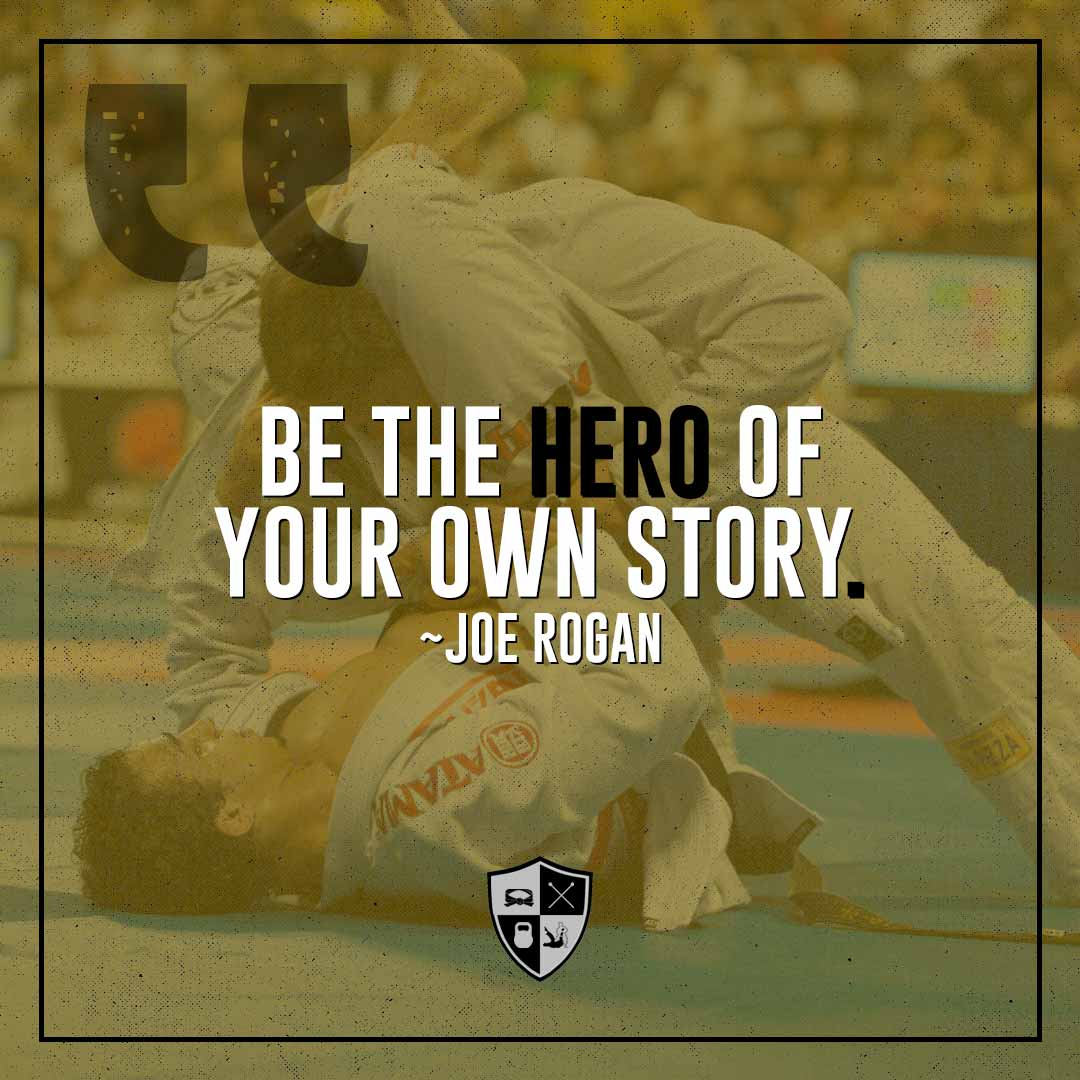 BJJ Motivation: Your Own Hero
