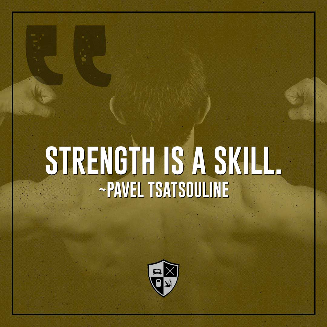 bjj motivation: strength is a skill