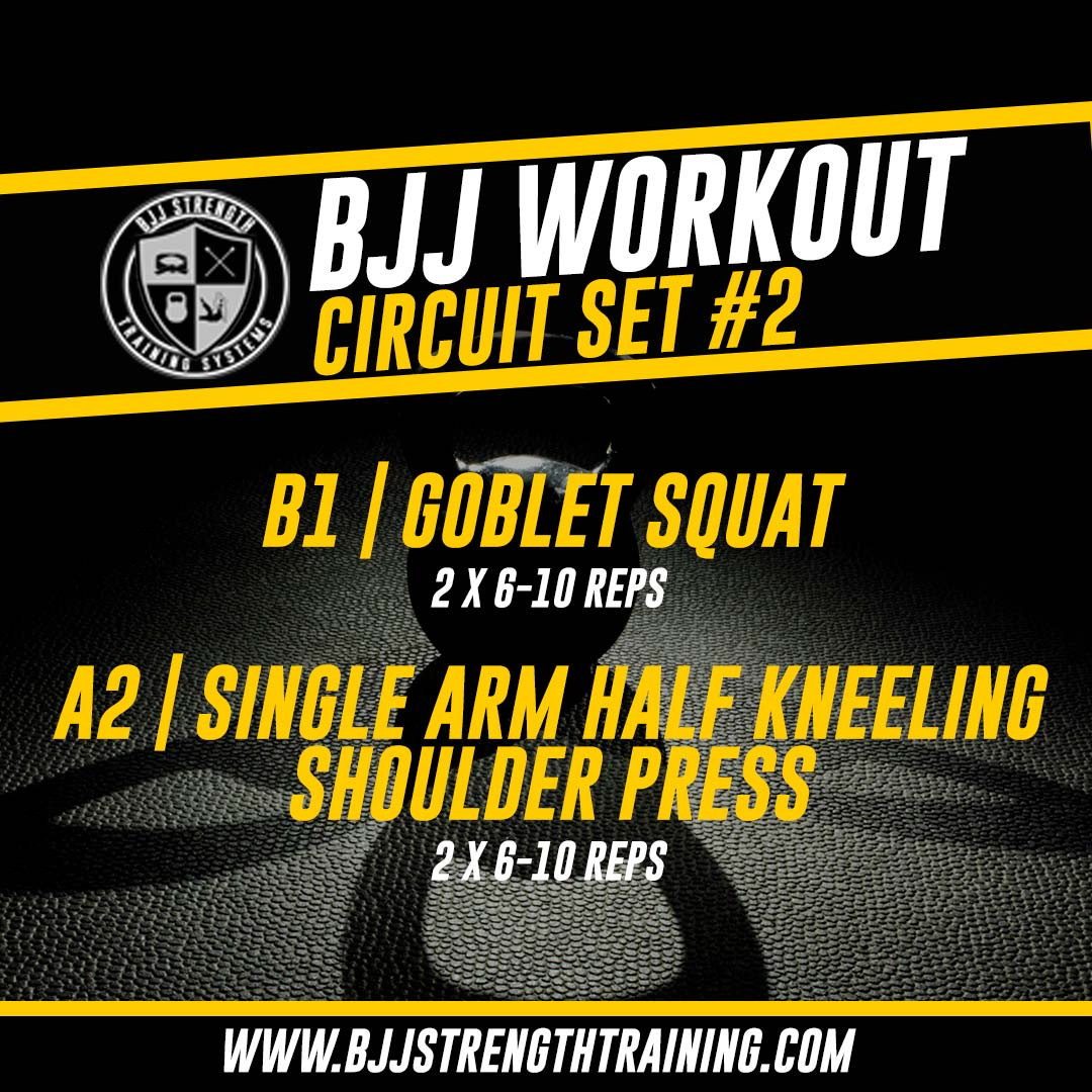 BJJ Workout: Circuit Set #2