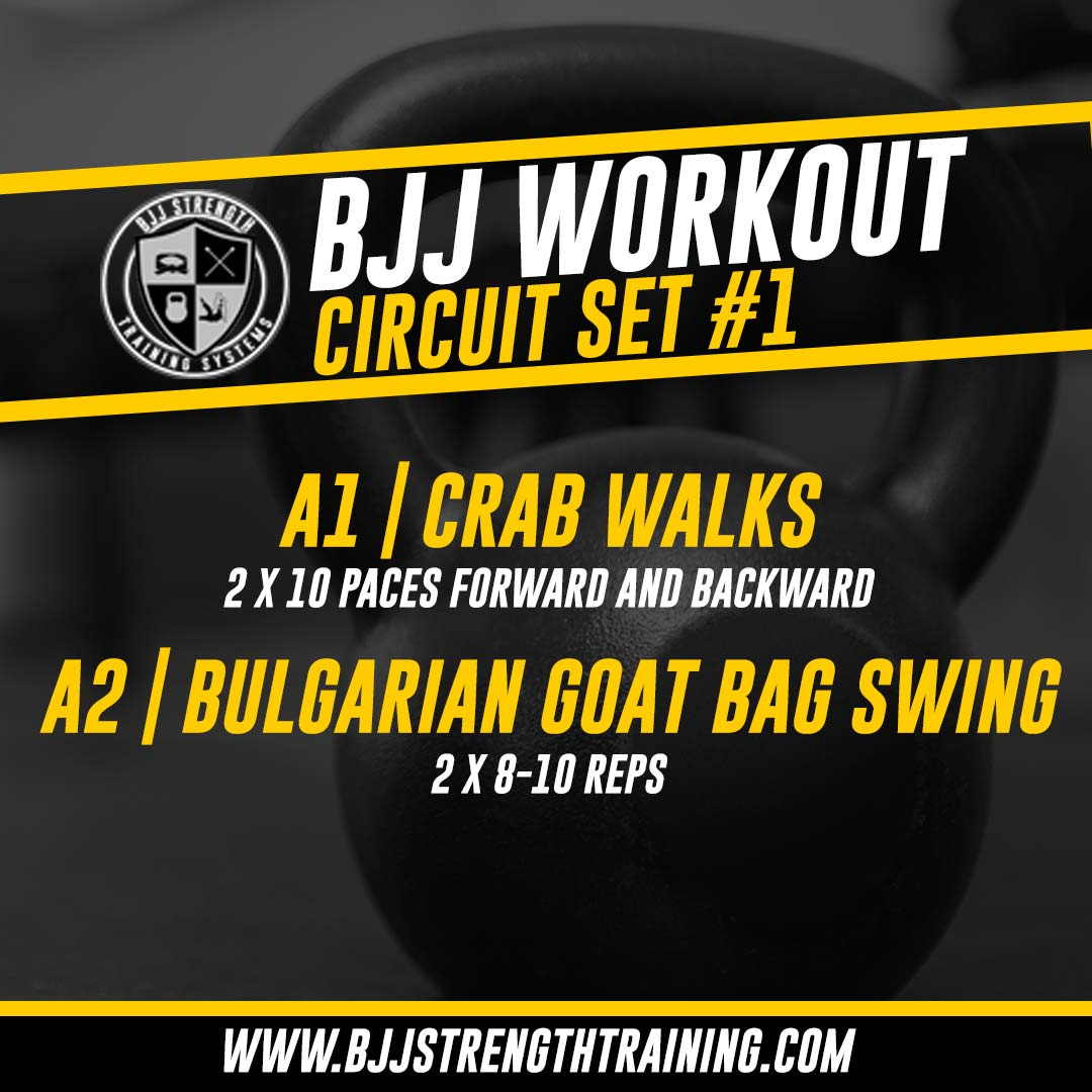 BJJ Workout: Circuit Set #1