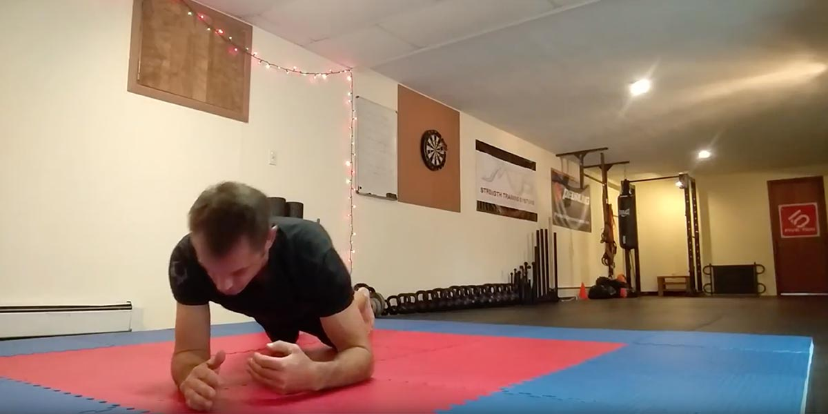Plank Rolls to Improve Your Core Strength, Hip Strength and Movement for BJJ