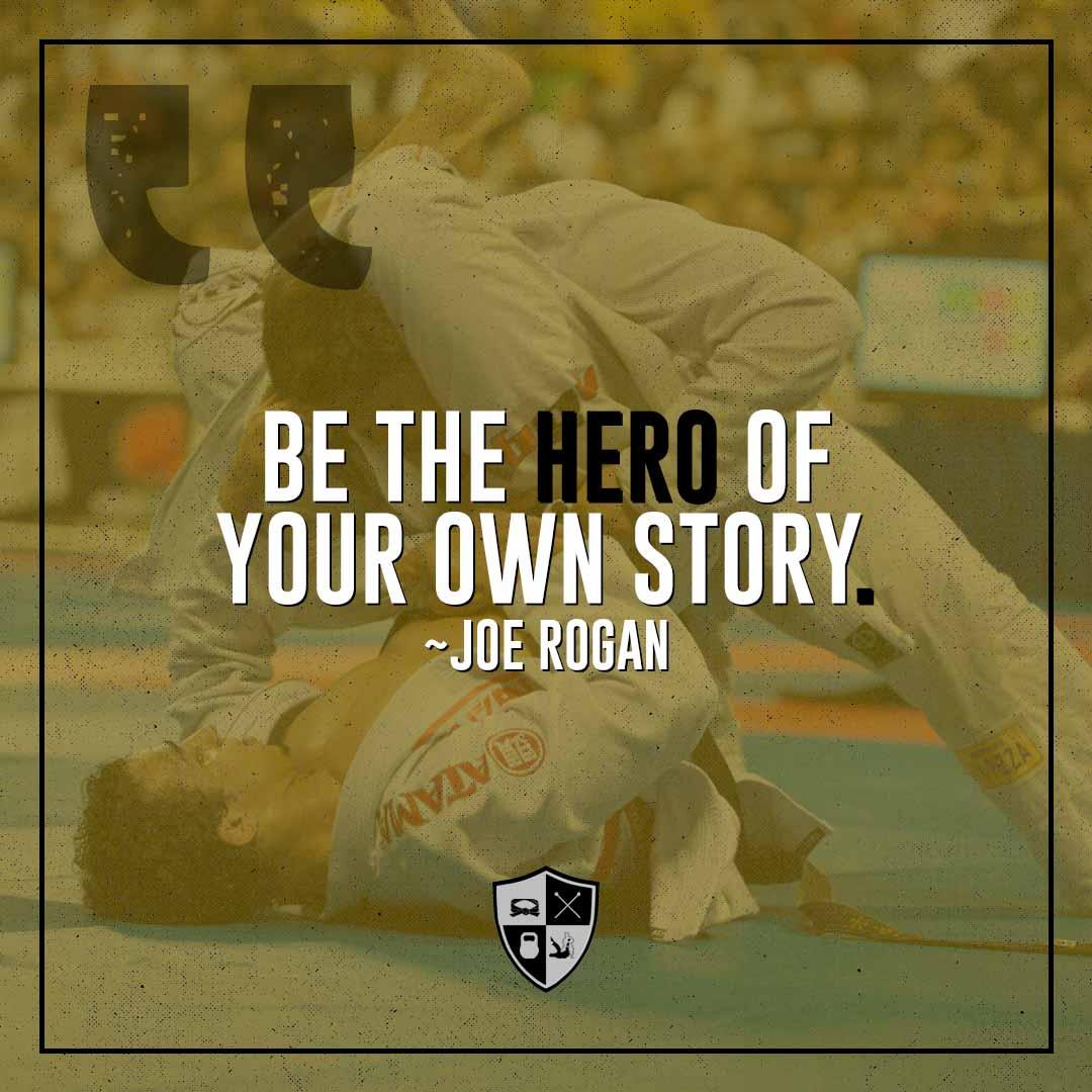 BJJ Motivation: Your Own Hero